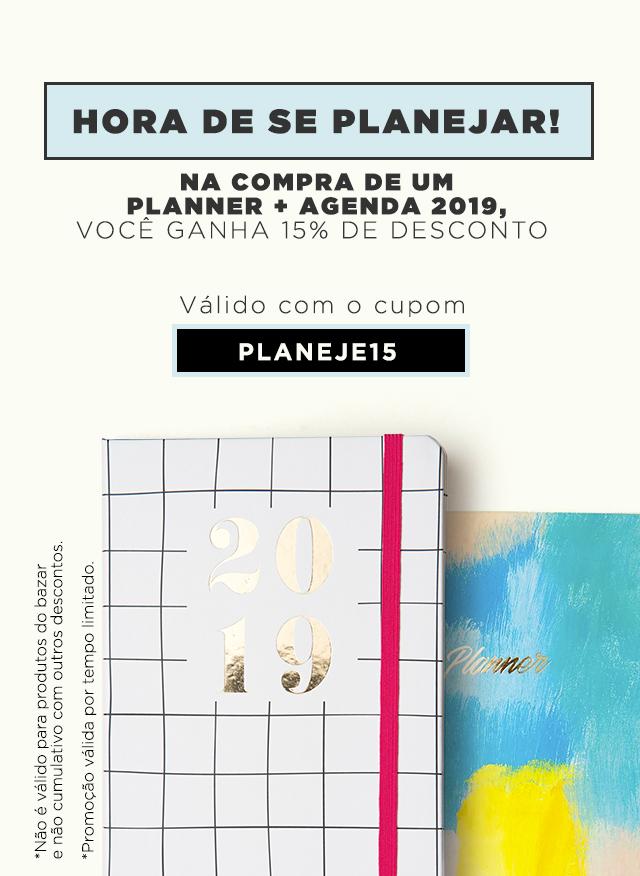 PLANNER + AGENDA (15%)